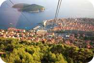 dubrovnik attraction cable car