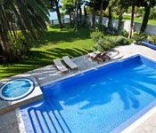 Luxury Waterfront Villa with Pool in Split, Sleeps 10