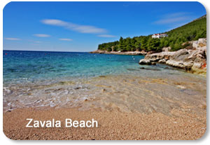 zavala beach croatia