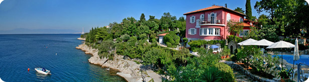 seaside croatia villa