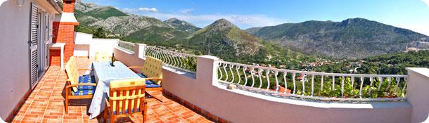 croatia mountain view