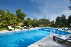 4 bedroom Istrian stone villa with pool