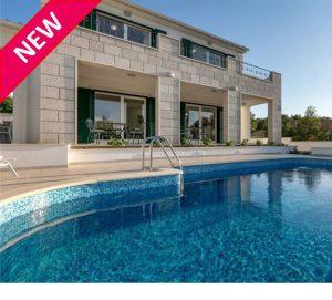 NEW! 4 Bedroom Seaside Villa near Milna, Brac Island