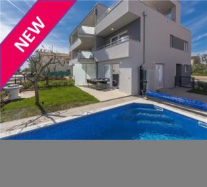 3 Bed Apartment with Pool in Novigrad