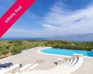 Enjoy scenic views from this Brac Island villa