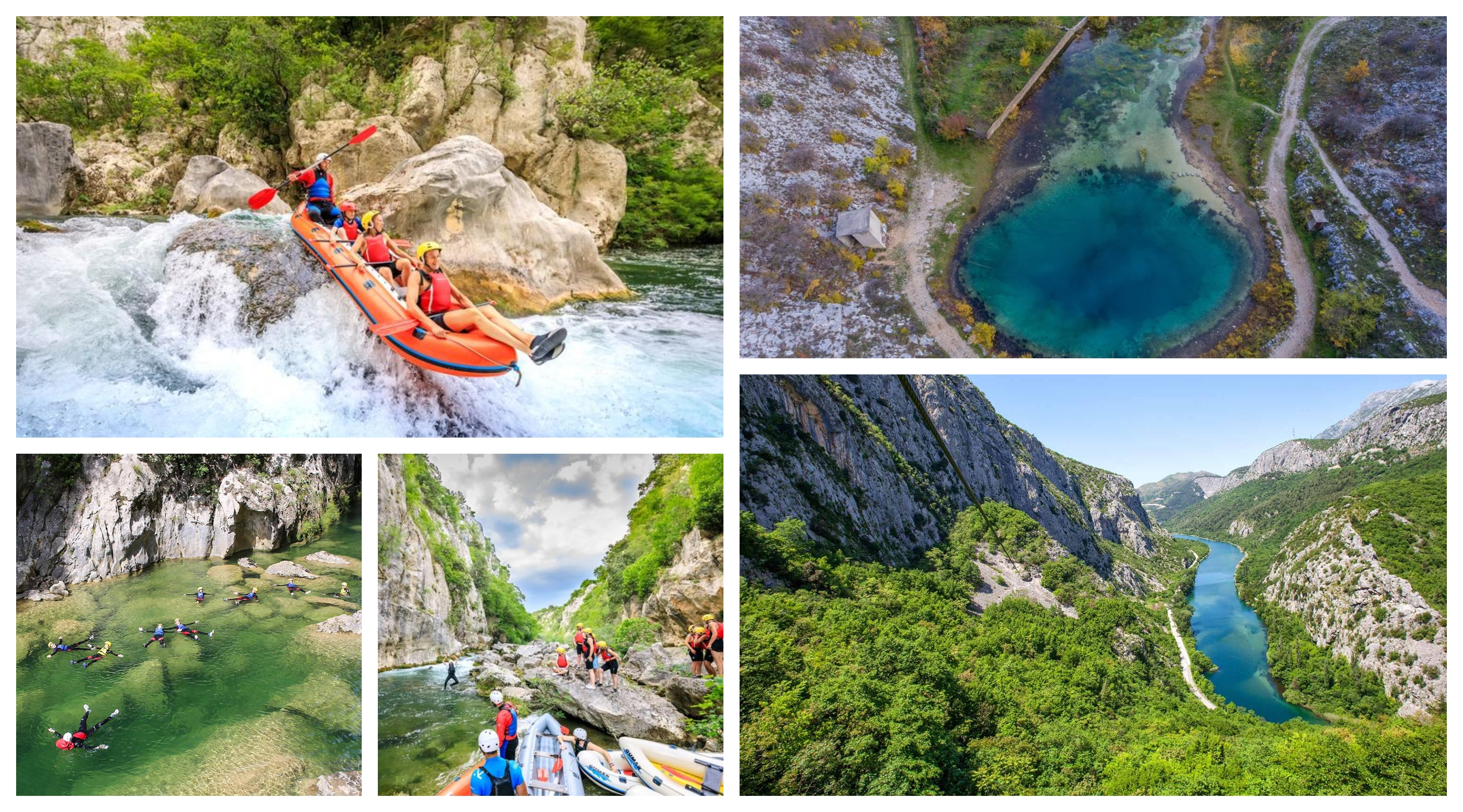Rafting and Canyoning in Cetina River