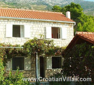 Beautiful Stone house in Croatian, on Hvar Island