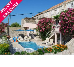 5 Bedroom Villa with Pool near Dubrovnik