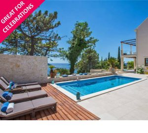 Villa for 14 with Heated Pool near Dubrovnik