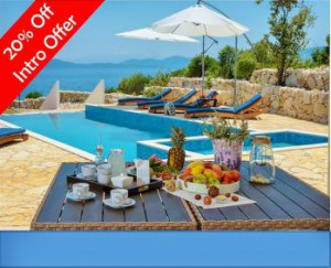 NEW! Luxury beach front villa near Dubrovnik
