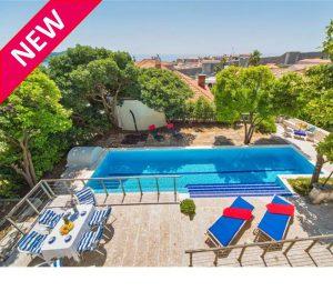 Dubrovnik City Villa with Pool, sleeps 8