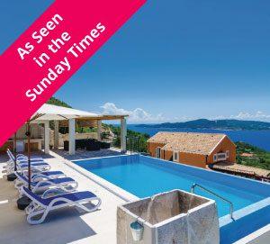 3 Bed Seaside Villa with Pool near Dubrovnik