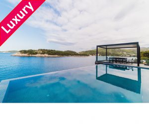 7 Bed Dubrovnik Beach Villa, Sleeps 14
