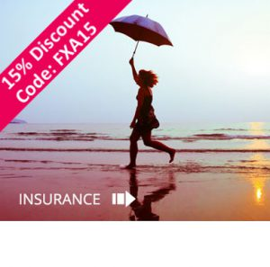 15% off your Travel Insurance. Code: FXA15
