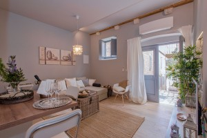 Luxury Living room in One Bedroom Apartment in Hvar Town, Croatia