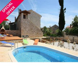 Up to 15% off July-August at Villa with Pool nr Porec
