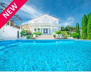 Istrian Villa with Pool and Sea Views, sleeps 9