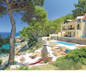 NEW! 8 Bedroom Beachfront Villa on Korcula Island