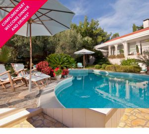 4 Bed Luxury Seaside Villa with Pool, Sleeps 8