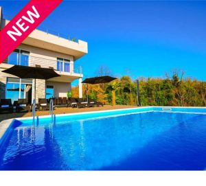 NEW – Villa in Opatija with panoramic sea views