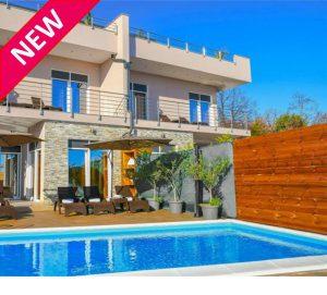 NEW 8 Bedroom Villa with 2 Pools in Opatija