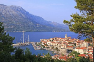 View of Korcula Island