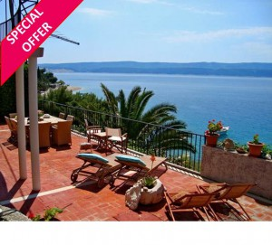 35% off Beachfront Villa near Omis – 9-16 July