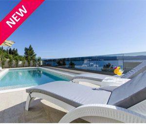NEW Luxury seafront villa in Omis, sleeps 8-10