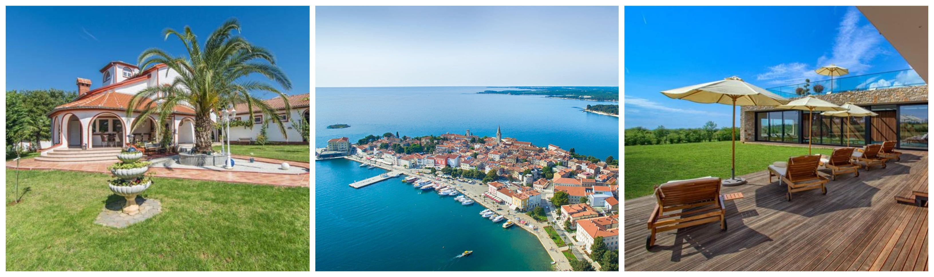 Villas in Porec