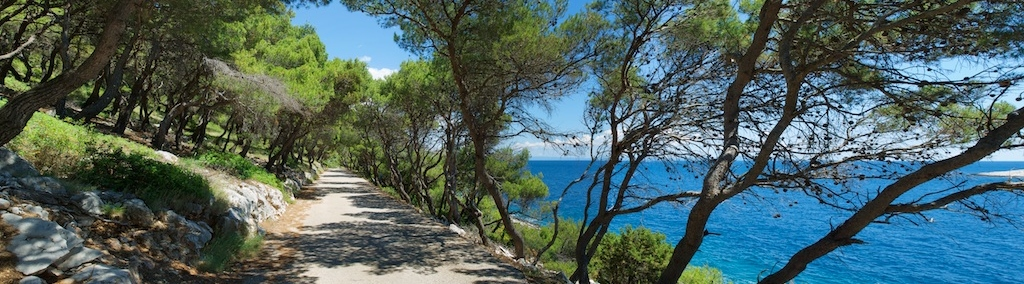 Road from Hvar to beach - Croatia Transfers_1024x284