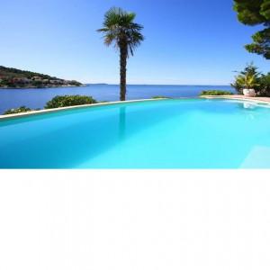 Elegant villa near Primosten for 12 just steps from the beach