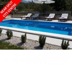 Modern 2 Bed Villa with Pool near Split City Centre
