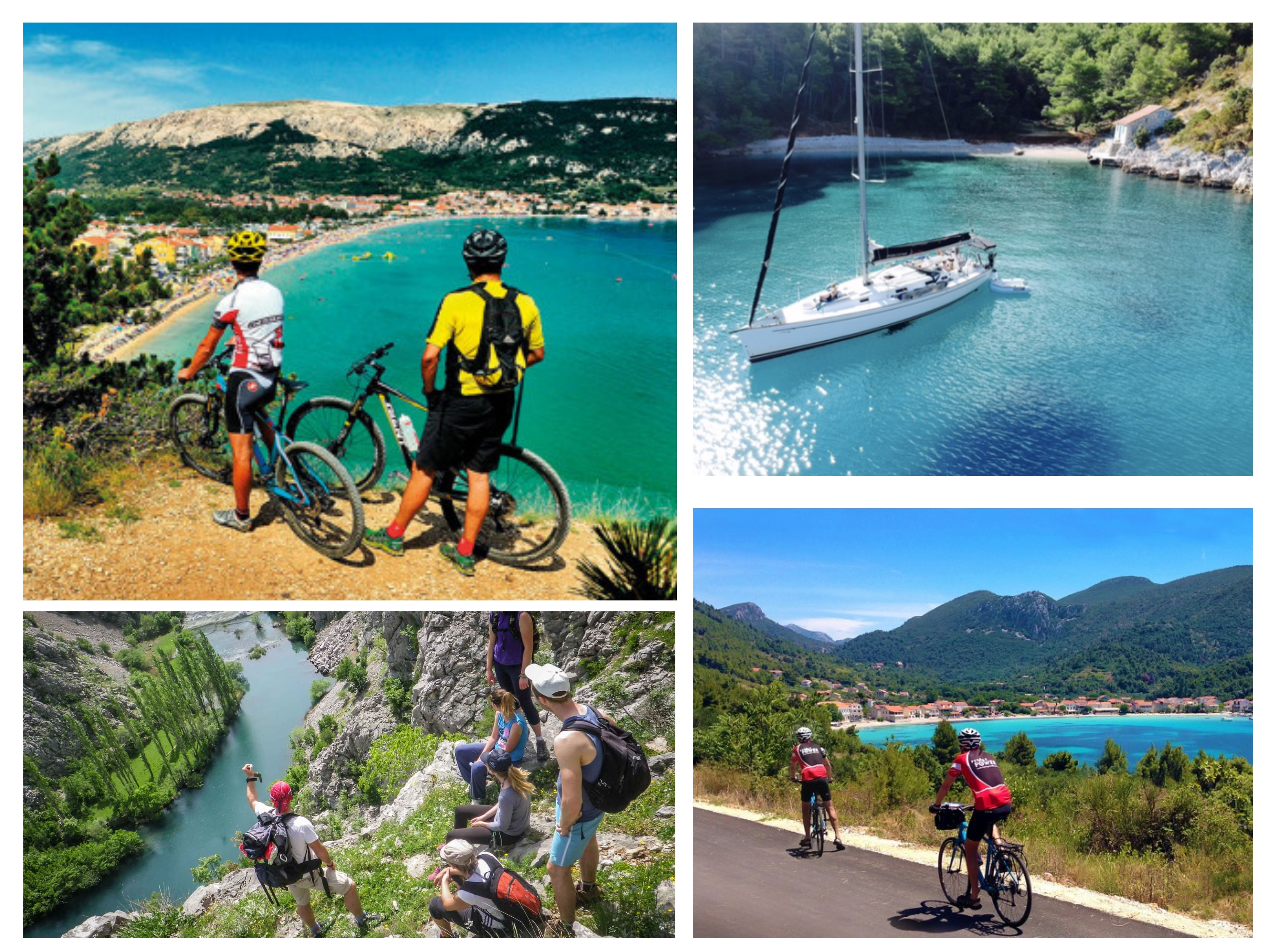Cycling, Hyking and Boat tour in Croatia