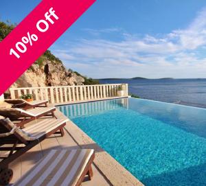3 Bed Villa near Trogir, Sleeps 7-8