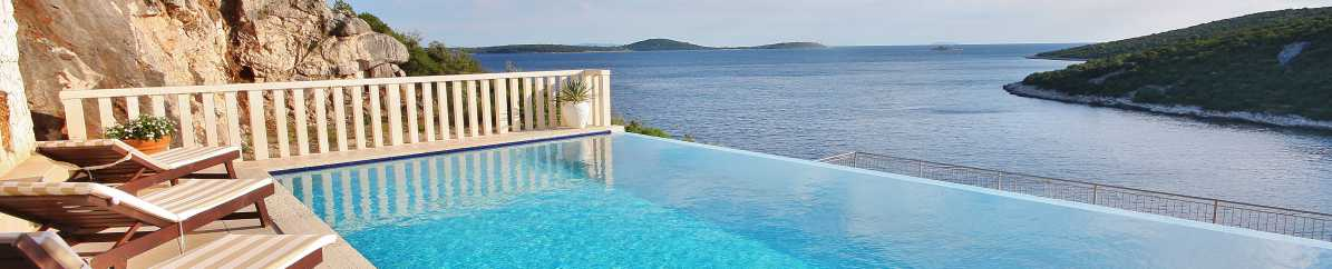Croatian Villas And Apartments With Pools Croatia Accommodations
