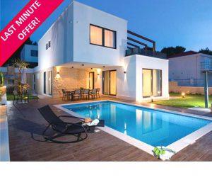 Luxury Seaside Villa for 10 near Split – just £69/person/night