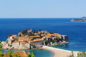 Scenioc view of Cavtat, Croatia cost line