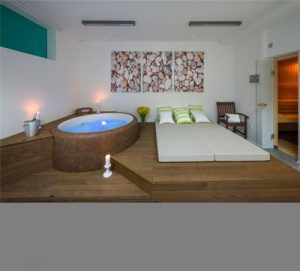 Relax & recharge at our villas with Spas
