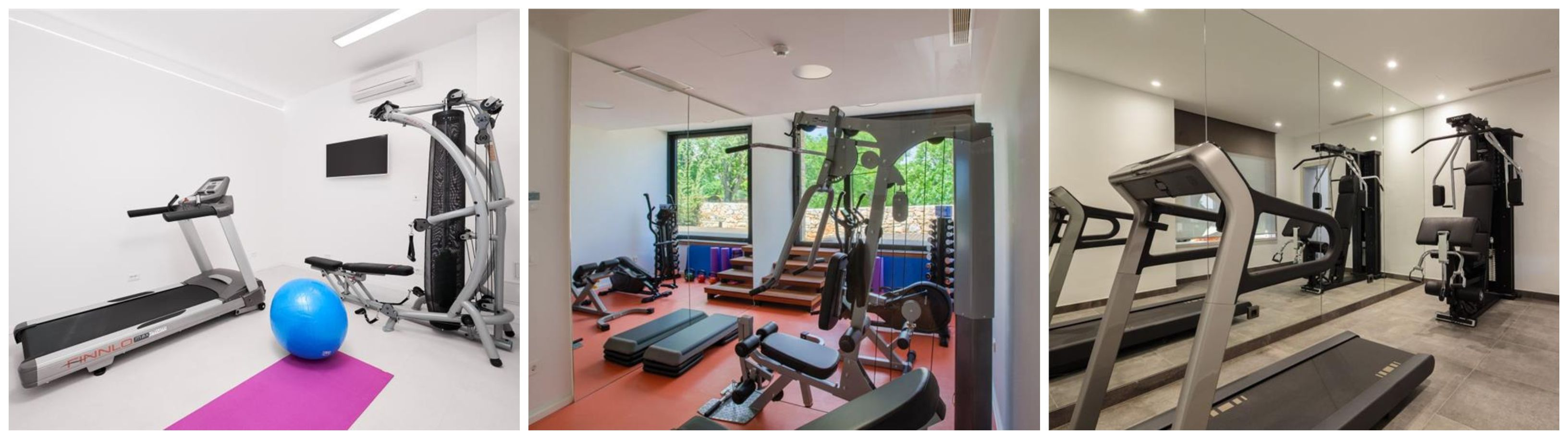 Croatian Villas with Gyms