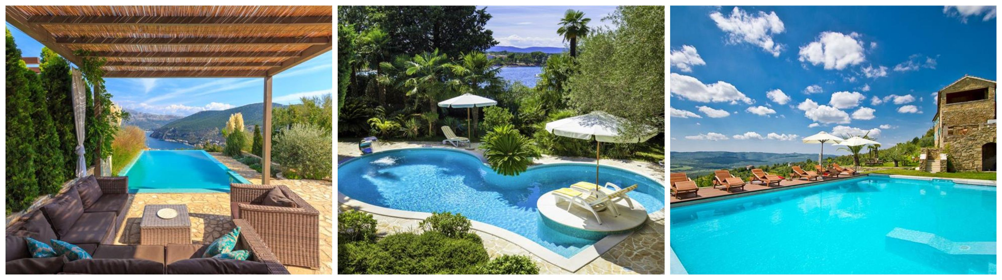 Croatian Villas with Pools