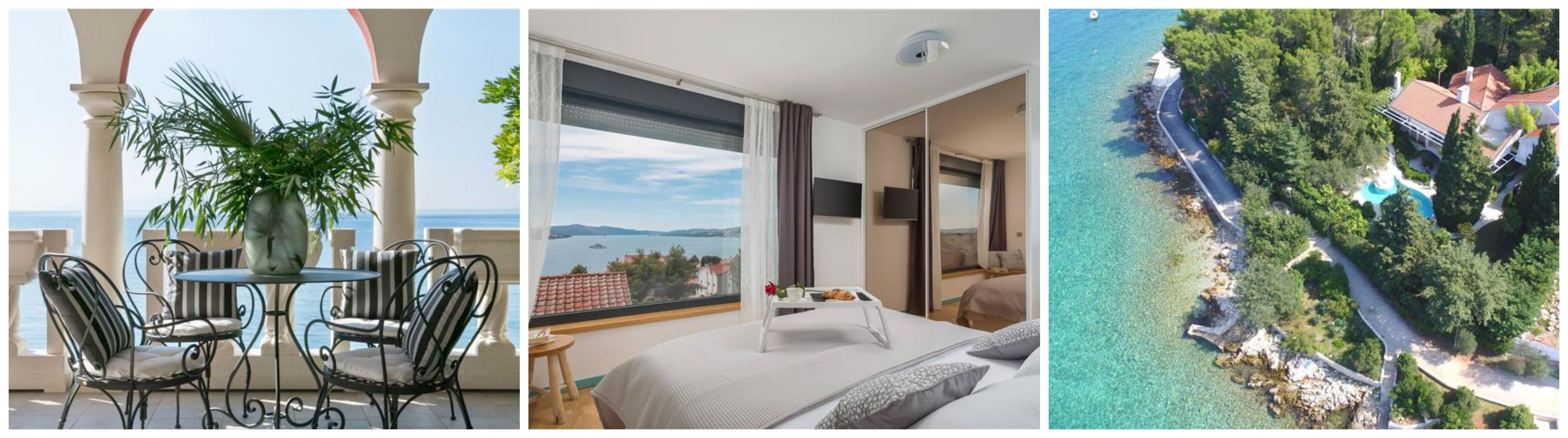 Croatian Villas Sea views
