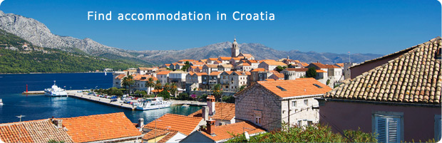 Find accommodation in Croatia