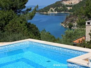 Seaside Villa on Brac Island sleeps 4