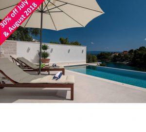 4 Bedroom Seafront Villa with Pool on Brac Island