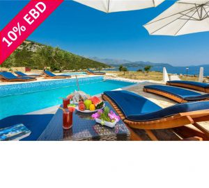Luxury 5 Bed Beachfront Villa nr Dubrovnik