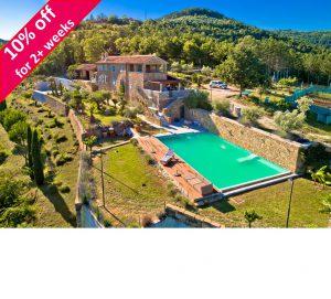 6 Bed Istrian Villa with Pool & Spa, Sleeps 12