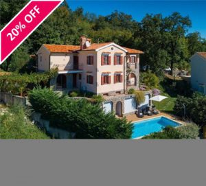 4 Bed Villa with Pool and Sea View near Opatija