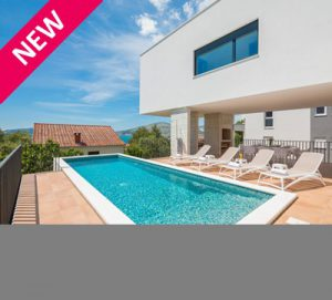 3 Bedroom Villa With Pool And Sea View Near Trogir