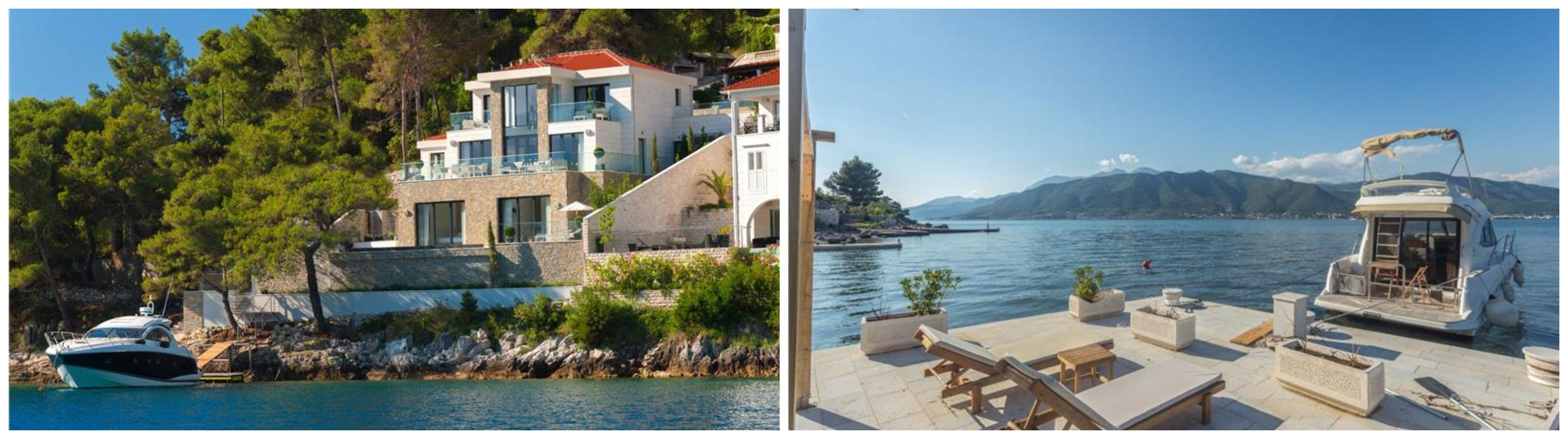 Villas with Boat Mooring